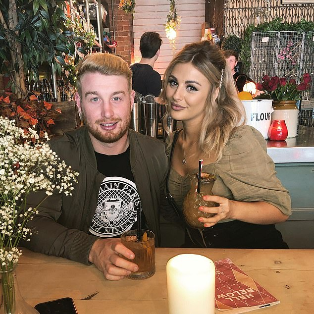 Danny Hodgson (pictured left with partner Jessica right), 25, was attacked while on his way home from an end of season game in Perth on September 4