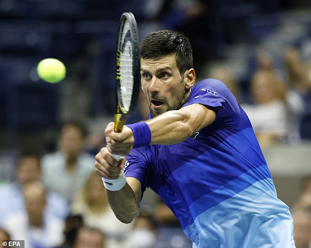 Keeping Djokovic down for long is tough and the Serbian soon found his feet to secure victory