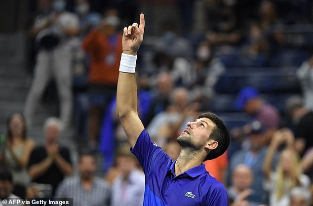 Djokovic, the world No 1, is still looking to finish off a phenomenal calendar grand slam