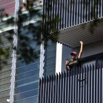 NSW public housing tower residents fuming from balconies after cops confiscate their beer and smokes 💥👩💥