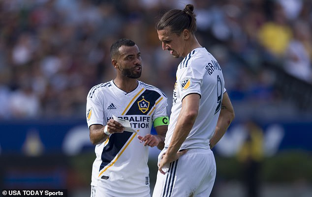 The retired defender revealed that Ibrahimovic once 'raised his hands' in a row with him