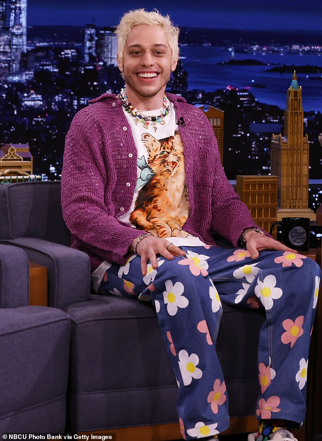 Stage fall:Pete Davidson explained how he fell off the SNL stage with Machine Gun Kelly back in January on Wednesday during a talk show visit