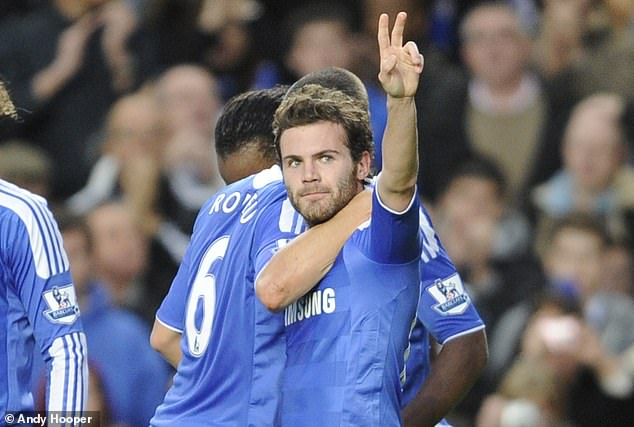 His debut was overshadowed by Juan Mata - also making his first appearance - as he scored the winning goal at the death