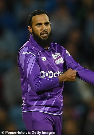 Adil Rashid was part of England's50-over World Cup win in 2019