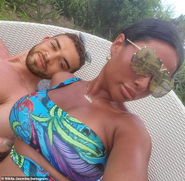 It's over: Ant and Nikita were paired by the show's relationship experts, but their marriage was short-lived after they argued on honeymoon, and Nikita was forced to leave the experiment