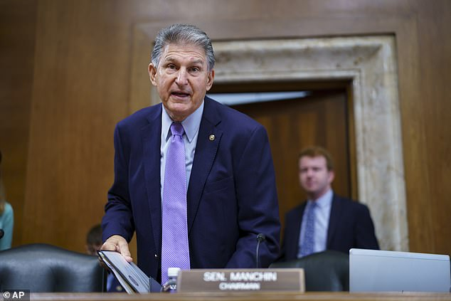 Powerhouse Sen. Joe Manchin (D-W.Va.) voted for the budget resolution, but called for a 'strategic pause' over the $3.5 trillion package barreling through Congress
