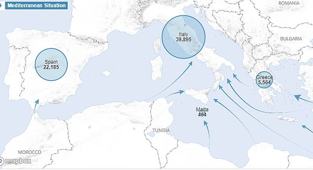 So far this year 70,000 migrants have crossed the Mediterranean into Italy, Greece, Spain, Cyprus and Malta, according to the United Nations