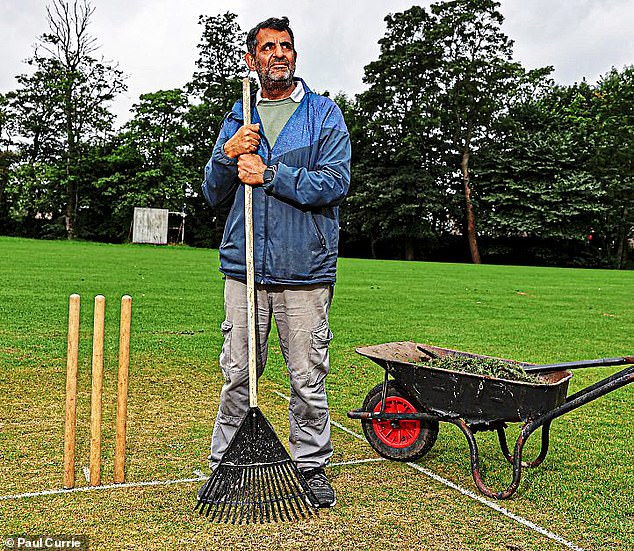 Great Horton Church Cricket Club secretary Taj Butt is concerned about the raging storm engulfing Yorkshire County Cricket Club