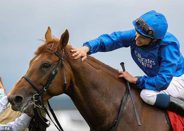 Hurricane Lane, ridden by William Buick, is odds-on favourite to take the honours at St Leger