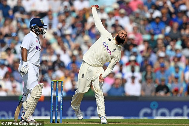 I wouldn't be too critical of Moeen Ali (right) just because he went at four-and-a-half an over