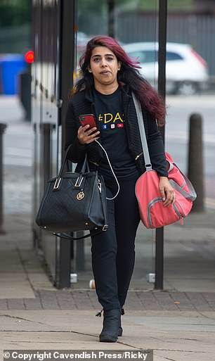 Sanya Nadeem (pictured), 24,was given 16 months jail suspended for two years after admitting causing serious injury by dangerous driving at Bolton Crown Court