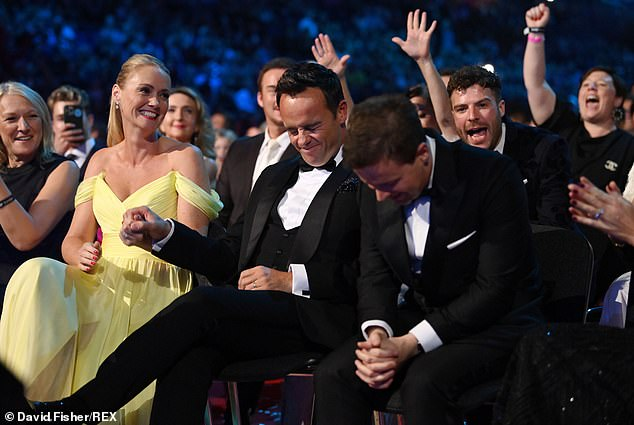 We did it!Ant and Dec scooped the Best Presenter gong for an epic 20th time in a row at the National Television Awards on Thursday, with a visibly emotional Ant seen clutching his new wife Anne-Marie as the news was delivered