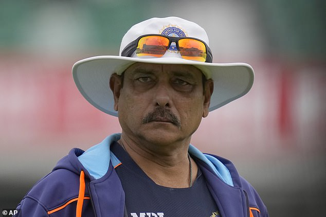 The news comes after India head coach Ravi Shastri tested positive for the virus on Sunday