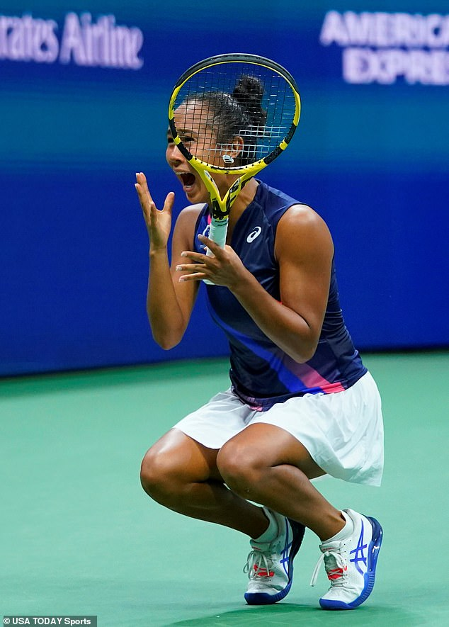 Another similarity is that Fernandez seems to have been enjoying herself immensely during her run at Flushing Meadows.