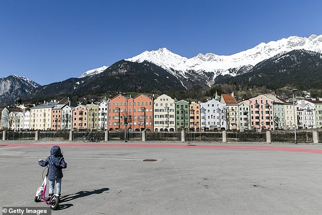 The mother and son, both of whom are yet to be named, lived in the western Tyrol region of Austria near Innsbruck