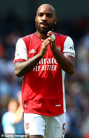 Alexandre Lacazette also returned a positive result, meaning that he too sat to separate from the opener.