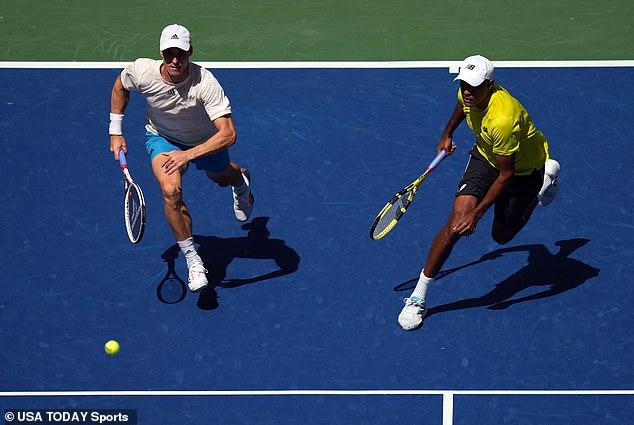 Joe Salisbury (left) and Rajeev Ram (right) won the US Open men's doubles final on Friday