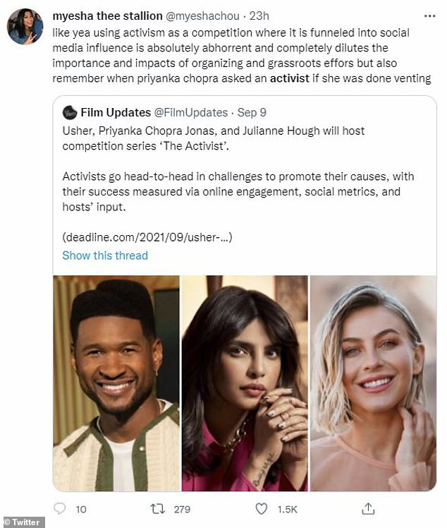 Killer combo:Another person combined complaints about the series with a dig at Chopra