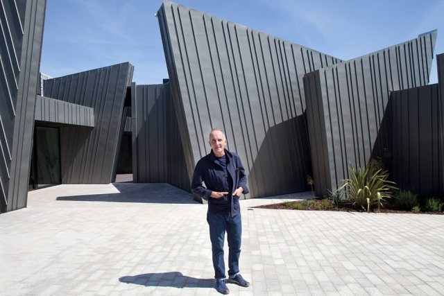 What is arguably Grand Designs' most audacious project to date has divided opinion. While some have praised it, others are scornful about a building that ended up costing its wealthy owners £2.5 million and from the outside resembles, in Kevin McCloud's words, 'a giant zinc monster'