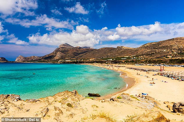 Alan says his favourite place in the world is Crete due to its beautiful beaches and fine food