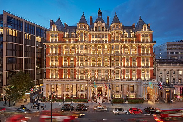 The iconic Mandarin Oriental Hyde Park has a charming terrace and fine restaurant