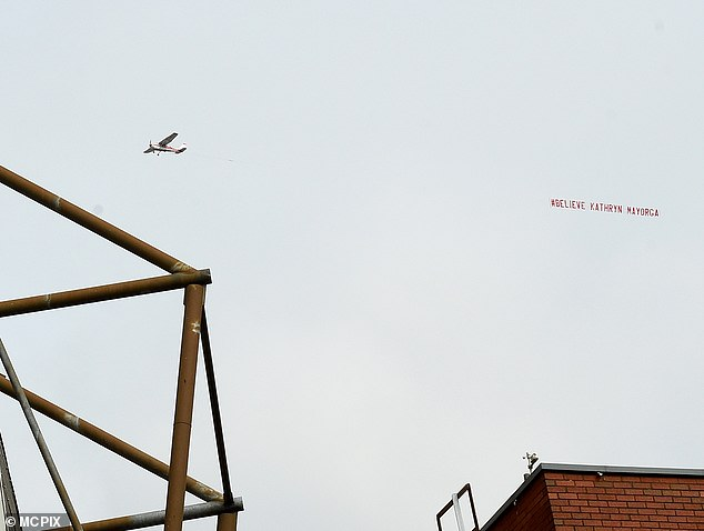 Cristiano Ronaldo's return to Manchester United was met with a feminist protest in the sky above Old Trafford relating to rape allegations brought by an American woman he met in Las Vegas in 2009