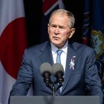 Bush uses his 9/11 speech in Shanksville to condemn 'violent extremists at home' 💥👩💥
