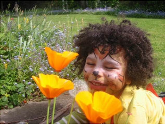 The files reveal that lethal hydrogen cyanide gas was detected in the home of seven-year-old Zane Gbangbola (pictured), who died from toxic fumes seven years ago after his family's home in Chertsey, Surrey, was flooded