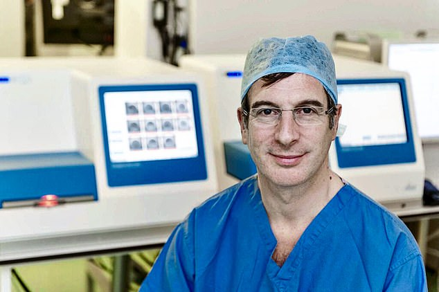 Professor Adam Balen (pictured), chair of the Fertility Education Initiative, said contraception should come with an alert against leaving pregnancy too late – much as packs of cigarettes highlight health risks
