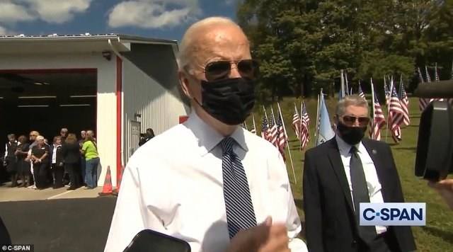 Joe Biden has defended his chaotic withdrawal from Afghanistan while attending a 20th anniversary memorial service for the victims of 9/11