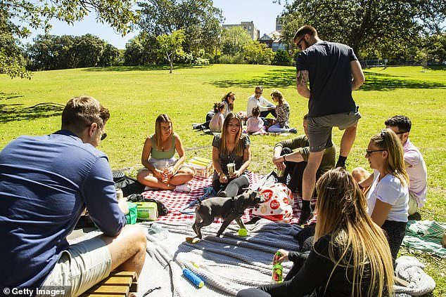 Sydneysiders will now be allowed to gather outdoors with up to five people as the first set of restrictions are rolled back across the city