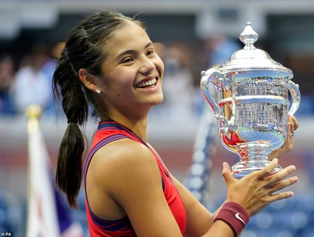 British tennis superstar Emma Raducanu has admitted that she wished her parents were in New York to watch her win the astonishing US Open final on Saturday after draconian Covid rules kept them in Britain in a candid post-match press conference