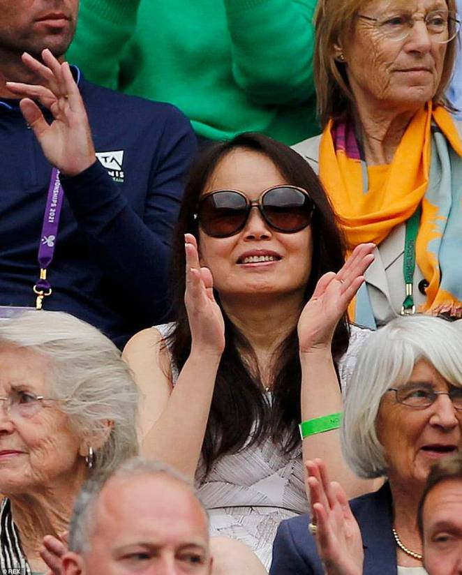 Emma's mother Renee attended her daughters matches at Wimbledon earlier this summer
