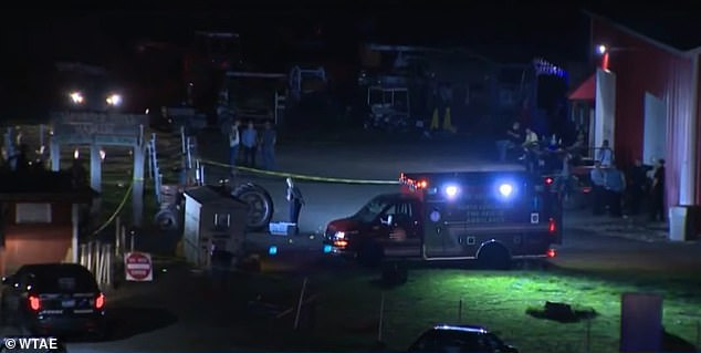 Two teenagers were shot at Haunted Hills Hayride in North Versailles, Pennsylvania on Saturday night leaving one dead and another critically injured