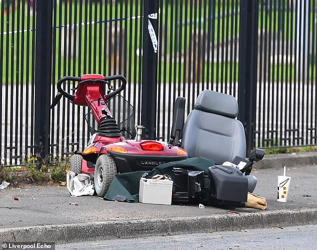 An 88-year-old man was seriously injured in a hit-and-run while riding a mobility scooter in Widnes, near Runcorn, on Saturday afternoon