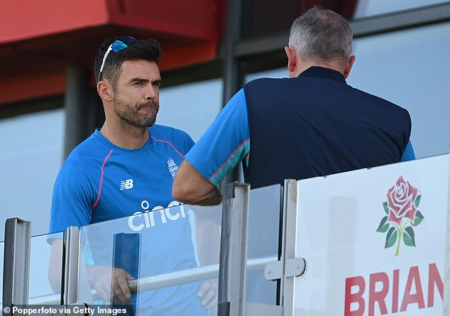 James Anderson said he was 'gutted' for fans who had spent money on tickets and travel