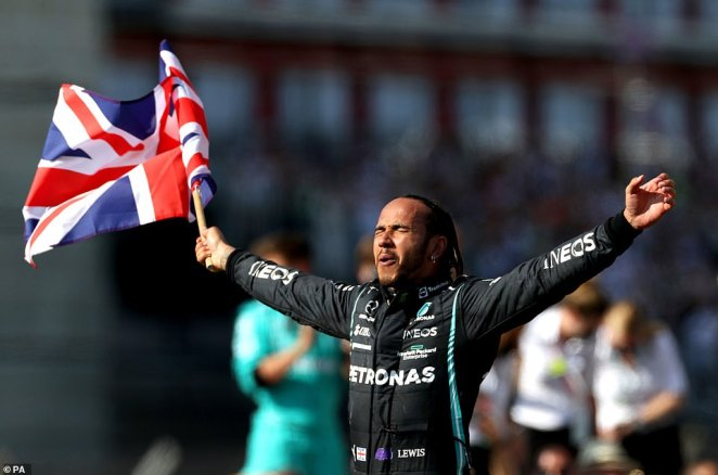 Verstappen said afterwards that Hamilton's celebrations after winning at Silverstone while he was still in hospital after the crash showed a lack of respect