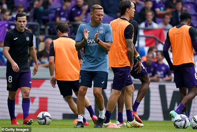 Anderlecht sporting director Peter Verbeke said 'the whole club stands firmly behind him'