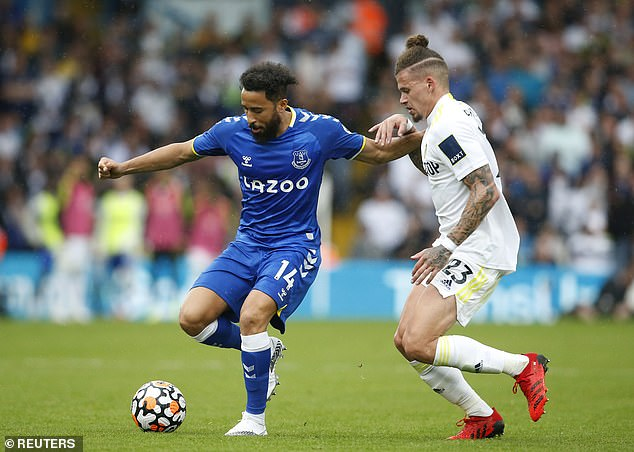 The Toffees had to focus on free signings like veteran winger Andros Townsend this summer