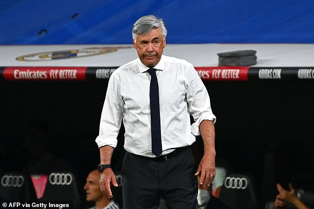 Despite his side's victory on Sunday, Carlo Ancelotti was left unimpressed with his defenders