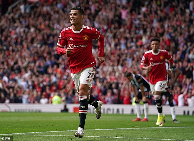 Cristiano Ronaldo has taken the Premier League by storm, scoring a double on his return