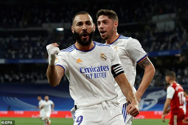 Karim Benzema scored a hat-trick as the Spanish giants beat Celta Vigo 5-2 at the Bernabeu