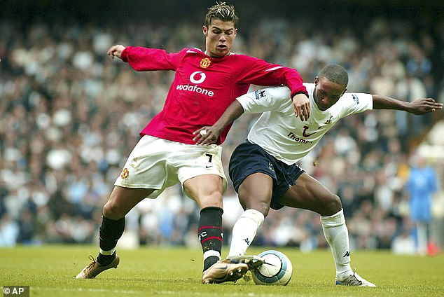 Ronaldo has never feared much and brought his confidence and swagger to England in 2003