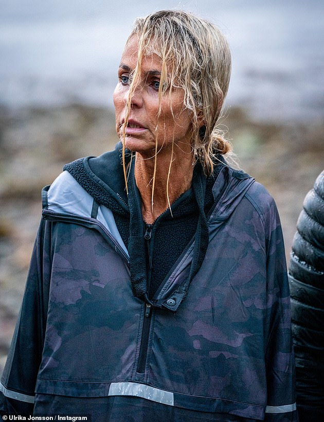 Out: Ulrika Jonsson was previously forced to withdraw from Celebrity SAS after medical experts stepped in