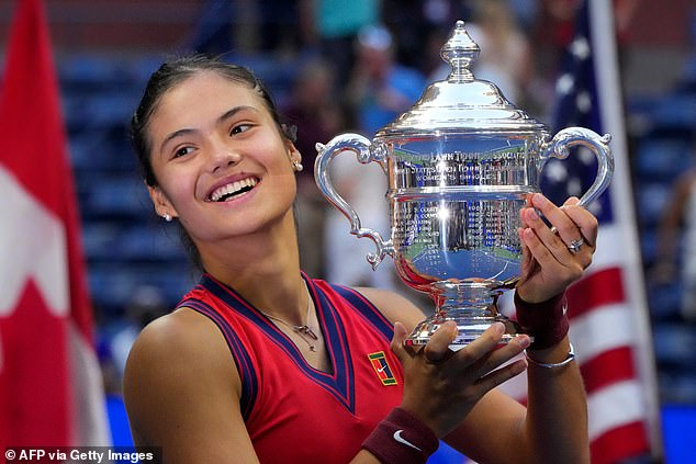 Miss Raducanu hadn¿t just won the tournament on points ¿ she had won on passion too