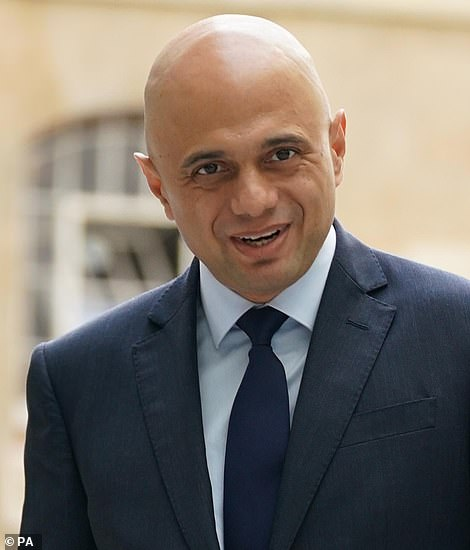 It comes after Sajid Javid (pictured) announced yesterday that he was dropping the scheme