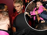 Machine Gun Kelly and Conor McGregor get into a red carpet altercation at the MTV VMAs
