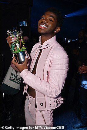 Big winner: Lil Nas X wins Video of the year for Montero (Call Me By Your Name)