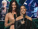 Megan Fox and Kourtney Kardashian call Machine Gun Kelly and Travis Barker 'FUTURE BABY DADDIES'