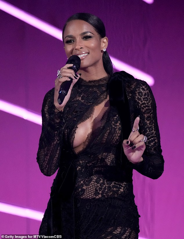 Goodies:Ciara was on hand at the event to introduce Normani's racy performance